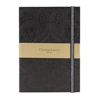 Christian Lacroix Onyx Paseo Notebook Grey