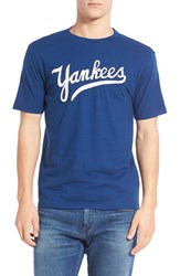 Men's Red Jacket 'New York Yankees Twofold' Crewneck T Shirt