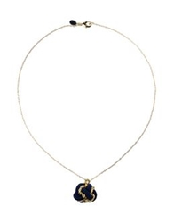 Master And Muse X Knotty Gal Necklaces Dark Blue