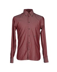Diesel Black Gold Shirts Shirts Men Brick Red