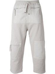 Blood Brother Zip Pocket Track Pants Nude And Neutrals