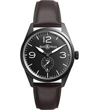 Bell And Ross Vintage Brww197 Bl St Scr Watch Black