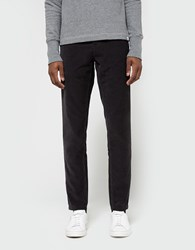 Norse Projects Aros Slim Light Corduroy In Charcoal