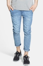 Globe Goodstock Cropped Beach Jogger Blue