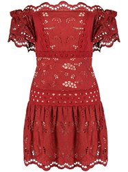 Three Floor Short And Sweet Dress Red