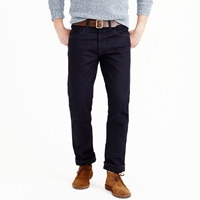 J.Crew Wallace And Barnes Slim Japanese Selvedge Jean In Raw Indigo