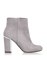 Dune Otta Suede Ankle Booties Grey