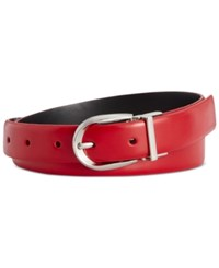 Styleandco. Style Co. Reversible Pant Belt Only At Macy's Red