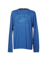 Beverly Hills Polo Club Topwear T Shirts Azure