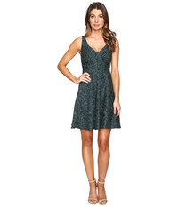 Eva By Eva Franco Alexander Dress Teal Women's Dress Blue