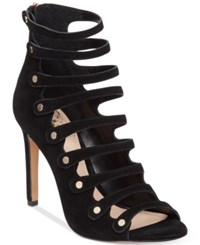 Vince Camuto Kanastas Strappy Gladiator Sandals Women's Shoes Black