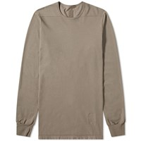 Rick Owens Drkshdw Long Sleeve Level Tee Brown