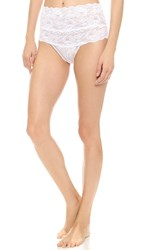 Cosabella Never Say Never High Rise Thong White