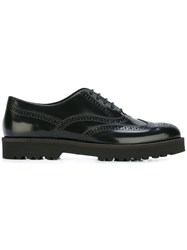 Hogan Wingtip Oxfords Black