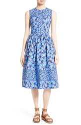 Kate Spade Women's New York Tangier Floral Midi Dress