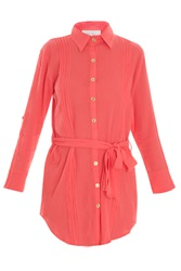 Heidi Klein Pleated Shirt Dress