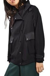 Topshop Women's Urban Popper Jacket
