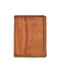 Rawlings Sports Accessories Baseball Stitch Tri Fold Wallet
