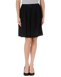 Simone Rocha Skirts Knee Length Skirts Women Black