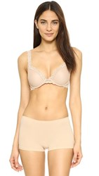 Natori Feather Push Up Convertible Bra Cafe