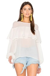 Finders Keepers Boyd Blouse White