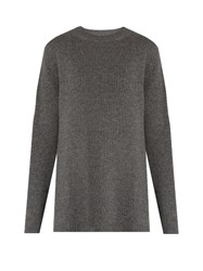 Raey Loose Fit Cashmere Sweater Grey