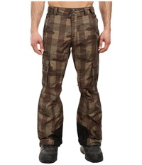 Columbia Ridge 2 Run Ii Pant Peatmoss Buffalo Camo Men's Outerwear Brown