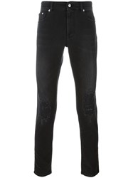 Versus Logo Patch Trousers Black