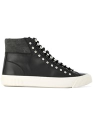 Diesel S Mustave Mc Sneakers Calf Leather Leather Rubber Black