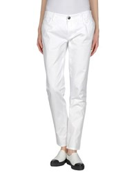 Byblos Trousers Casual Trousers Women White