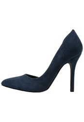 Evenandodd High Heels Petrol Blue Dark Blue