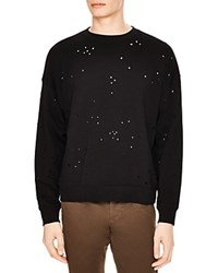 Sandro Destroyer Sweater Black