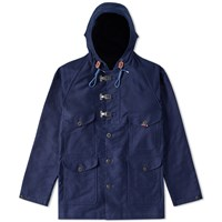 Nigel Cabourn Washed Cameraman Jacket Blue