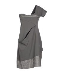 Malloni Dresses Short Dresses Women Grey
