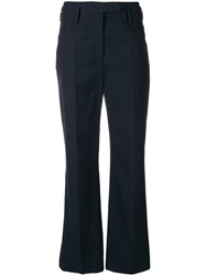 Nehera High Waisted Trousers Blue