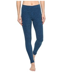 Beyond Yoga Spacedye Long Essential Leggings Black Tidal Blue Spacedye Women's Casual Pants