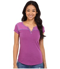 Kuhl Veloce S S Top Wild Rose Women's Short Sleeve Pullover Pink