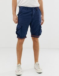 Superdry Core Cargo Shorts In Navy