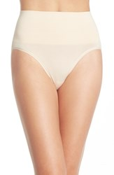 Yummie Tummie Women's Yummie By Heather Thomson 'Nici' Shaping Briefs Nude