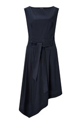 James Lakeland Asymmetric Skirt Dress Blue