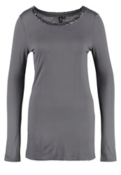 Fresh Made Long Sleeved Top Castlerock Grey