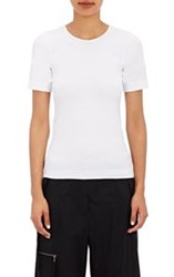 Helmut Lang Women's Stretch Microfiber T Shirt Colorless