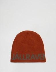 Fjall Raven Fjallraven Are Beanie In Brown Brown