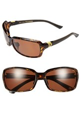Women's Zeal Optics 'Zeta' 61Mm Plant Based Polarized Sunglasses
