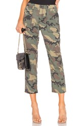 Sanctuary Peace Crop Chino Pant Army