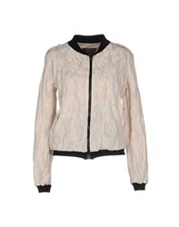 Es'givien Coats And Jackets Jackets Women Beige
