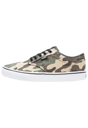 Vans Atwood Trainers Camo Green