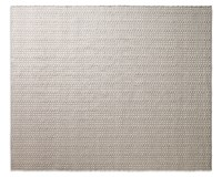 Blu Dot Weft Rug Light Grey Heathered Oatmeal Medium Beige