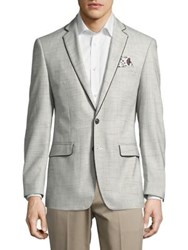 Tallia Orange Textured Sports Coat Cream Black