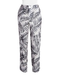 Sam Edelman Printed Pants Black
